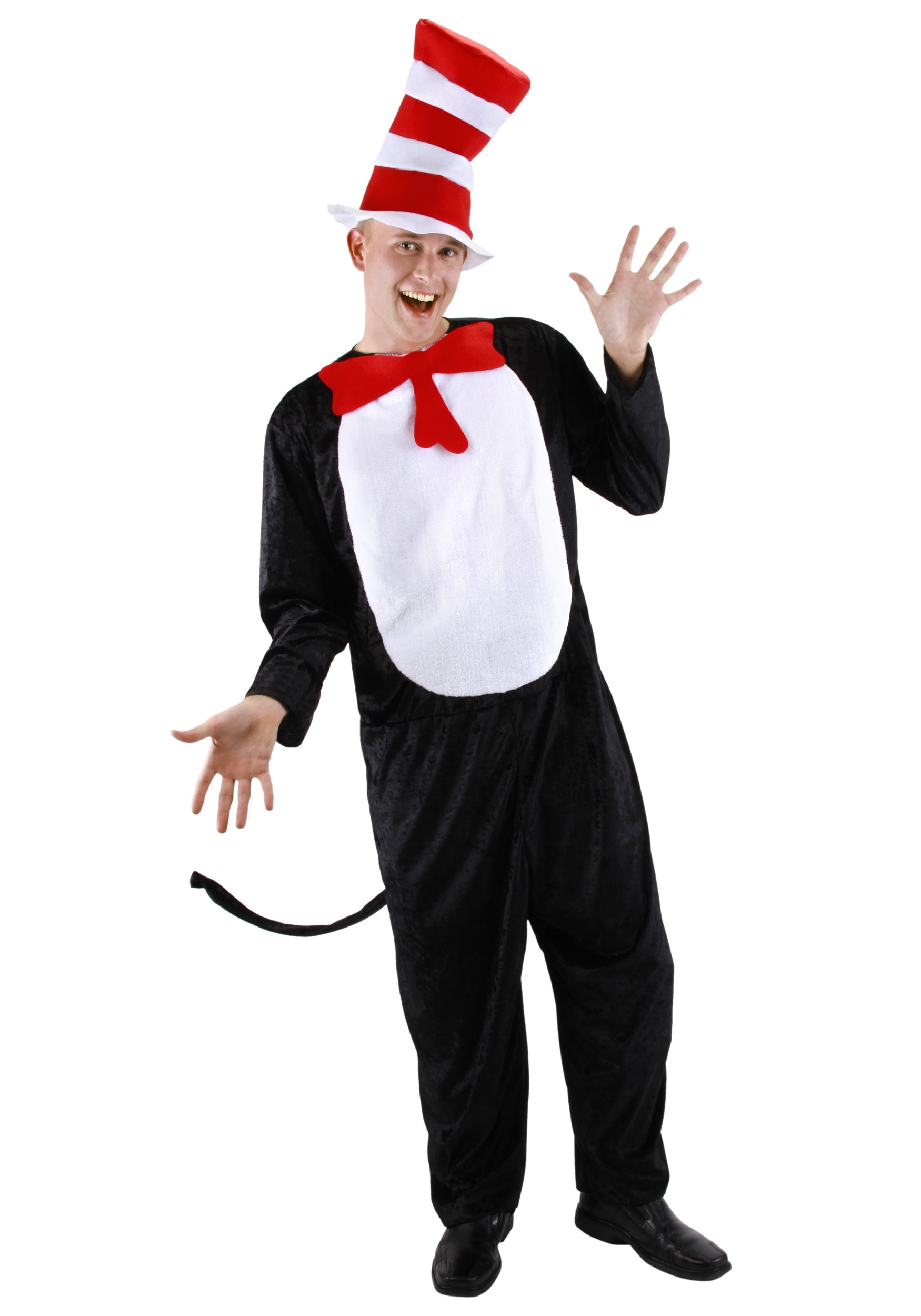 Cat in the Hat Adult Costume - Halloween Costumes