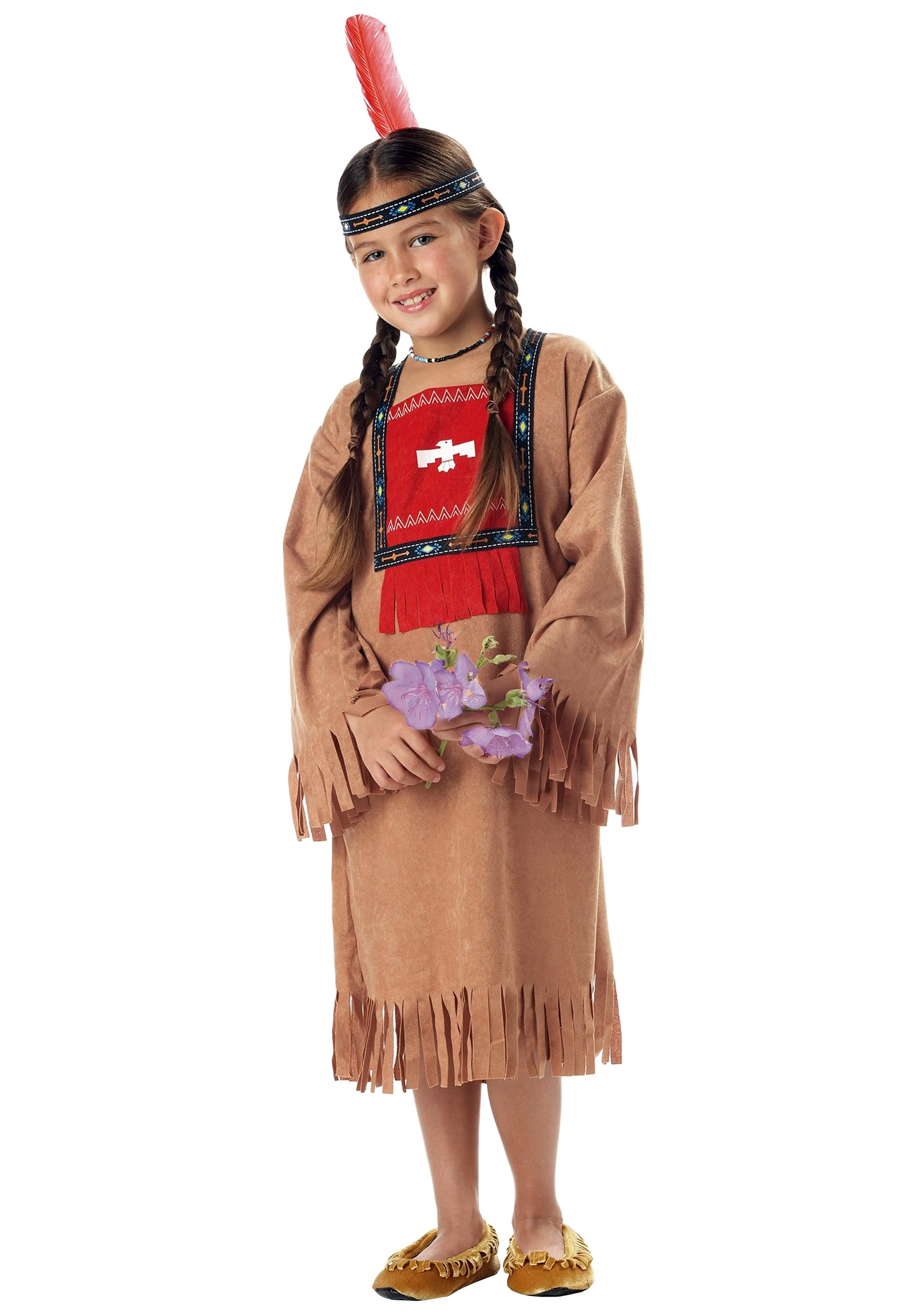 Kids Halloween Costumes Boys Child Indian Girl Costume