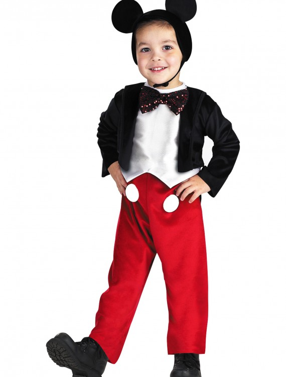 Deluxe Kids Mickey Mouse Costume, halloween costume (Deluxe Kids Mickey Mouse Costume)