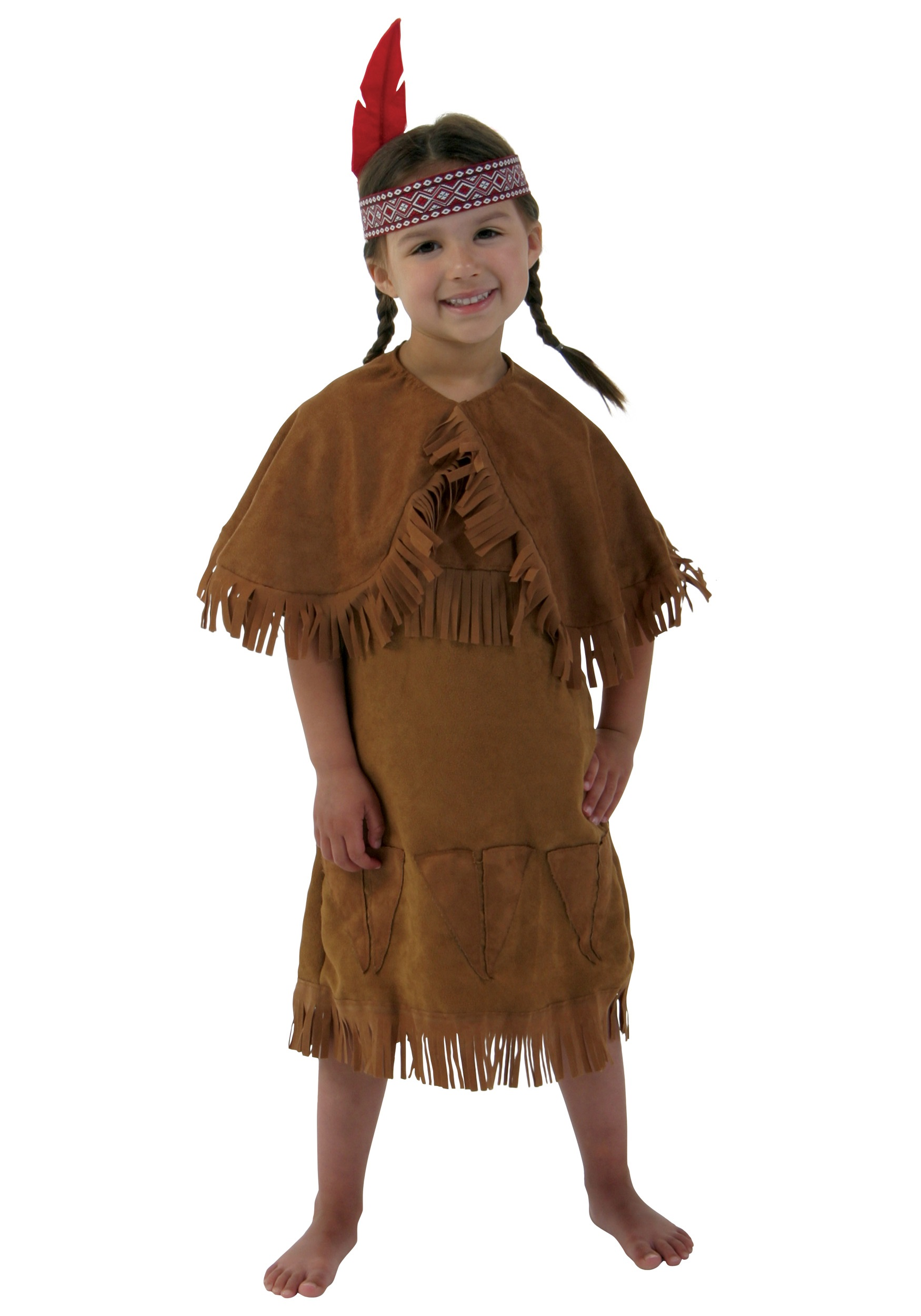 Toddler Girl Native American Costume Girls American Indian Toddler