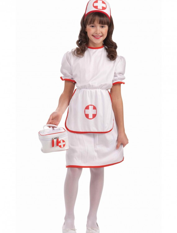 Girls' Nurse Costume, halloween costume (Girls' Nurse Costume)