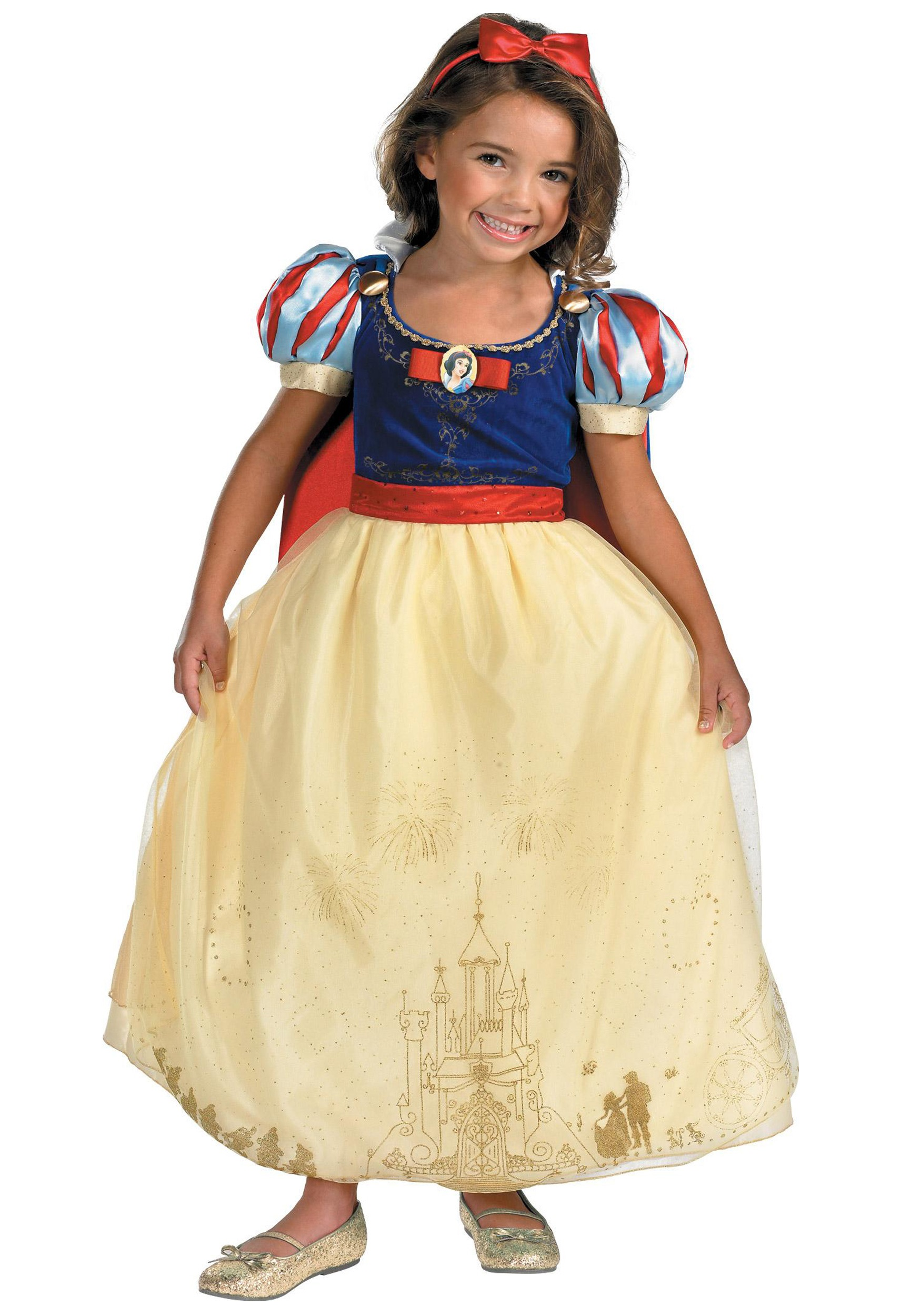 Kids Prestige Snow White Costume  sc 1 st  Halloween Costumes : kids prince costumes  - Germanpascual.Com