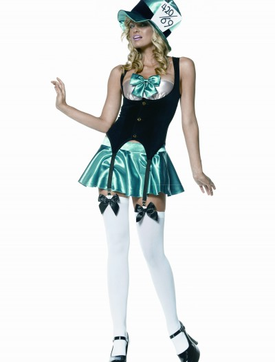 Sexy Adult Mad Hatter Costume, halloween costume (Sexy Adult Mad Hatter Costume)