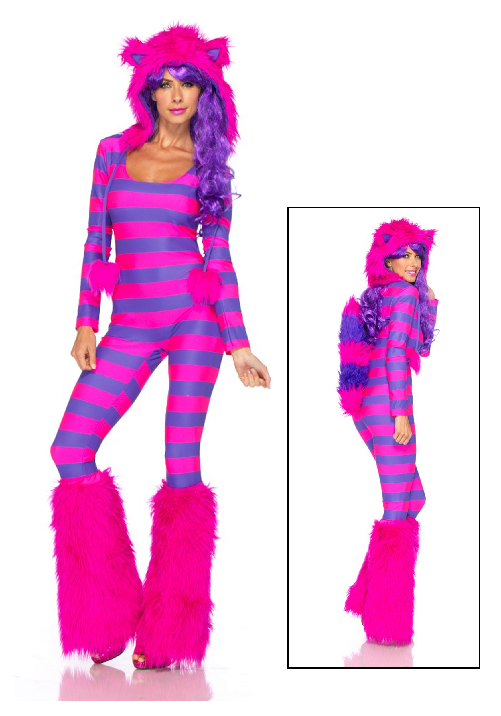 Child Deluxe Cheshire Cat Costume Sexy Cheshire Cat Costume