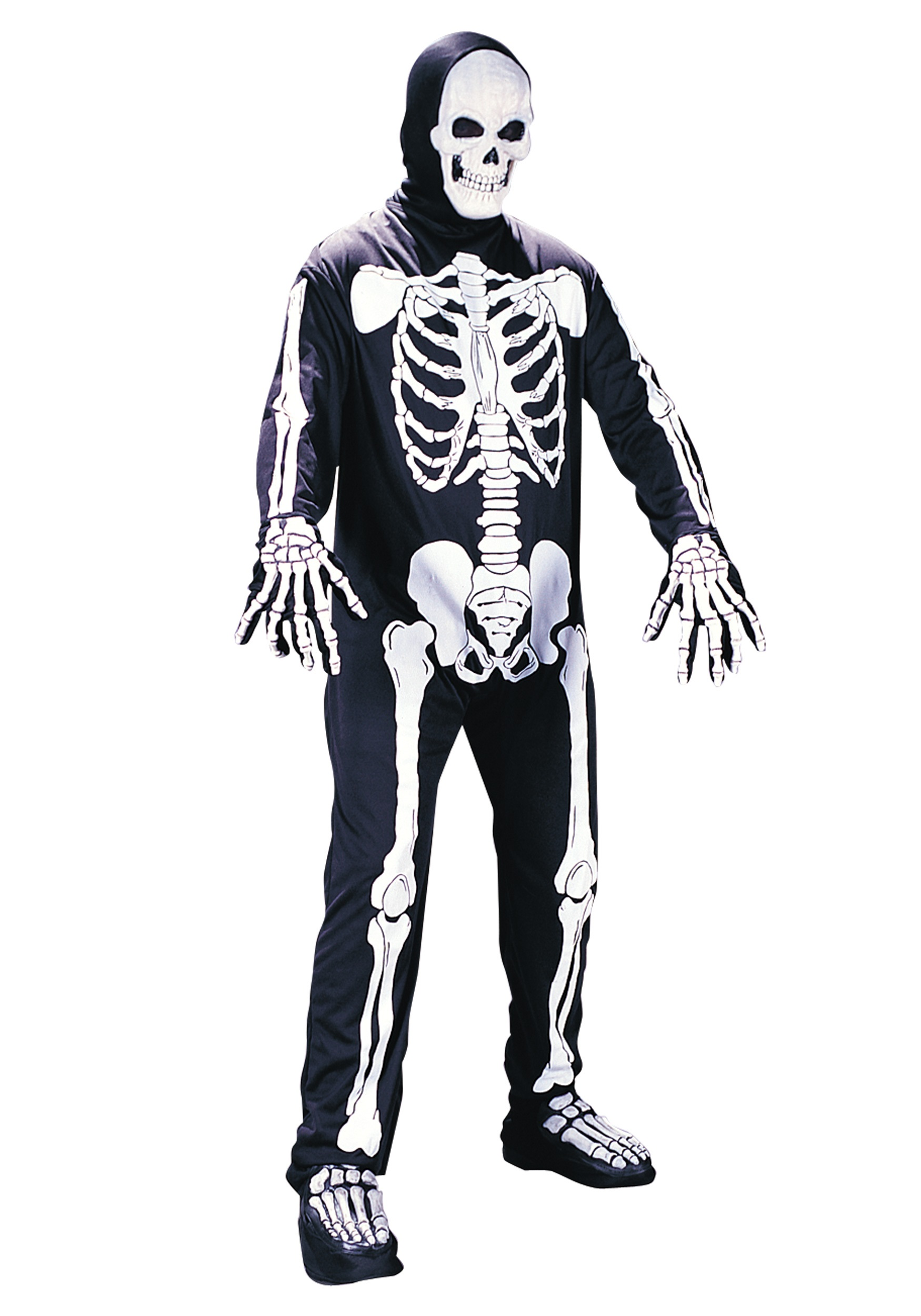 Skeleton cowboy costume - photo#9