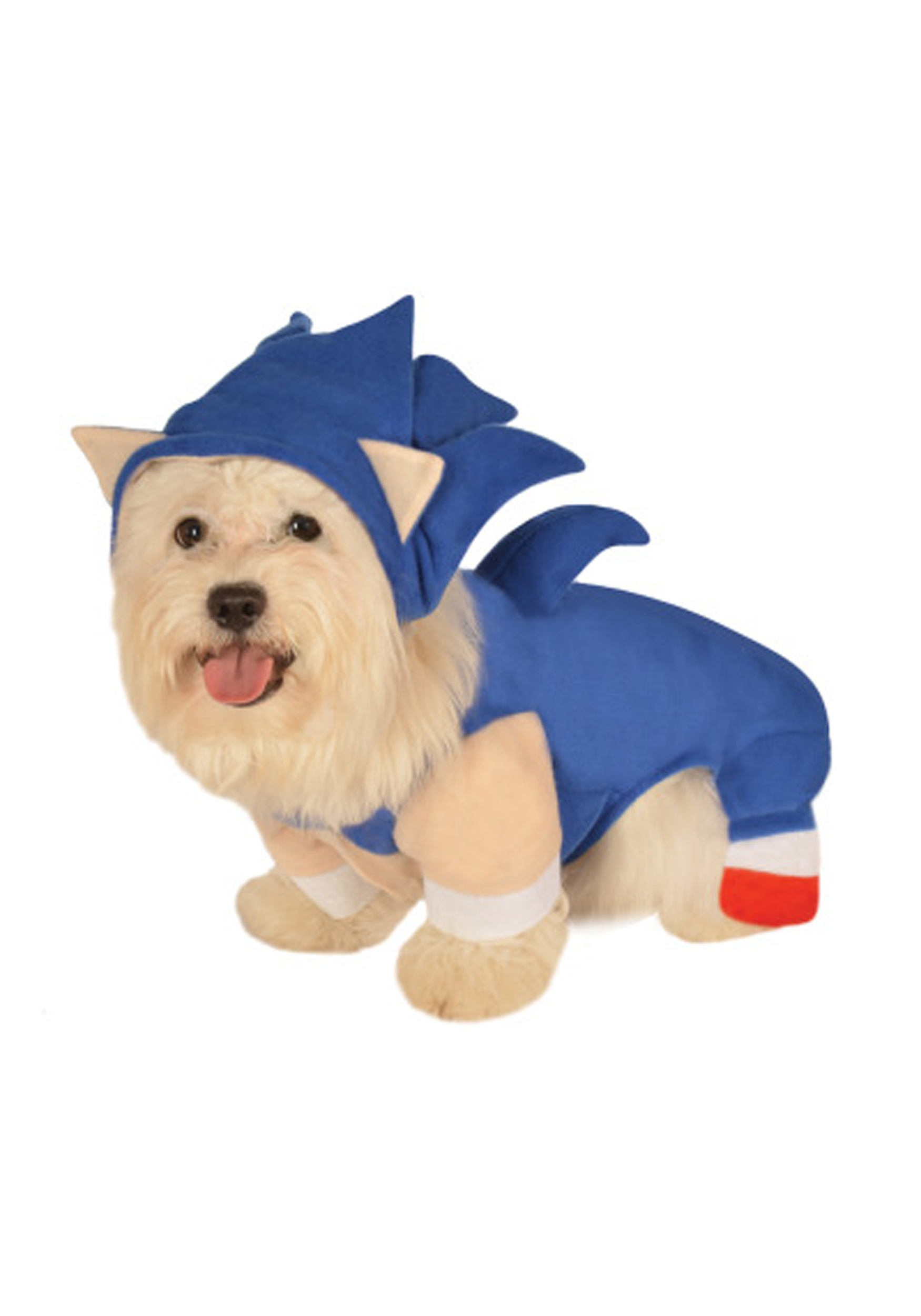 Sonic Hedgehog Halloween Costume Sonic The Hedgehog Pet Costume