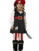 Toddler Girls Pirate Costume, halloween costume (Toddler Girls Pirate Costume)