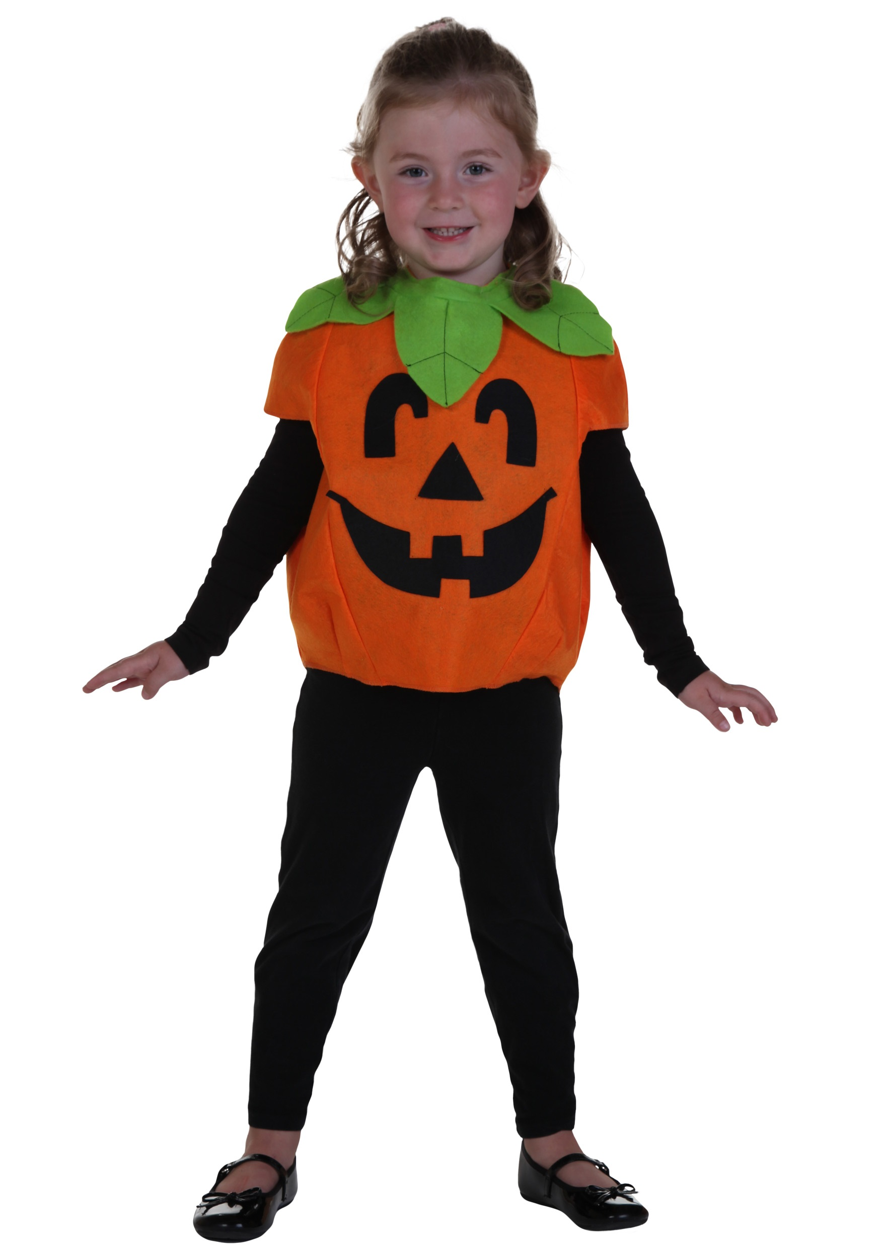 Little Girl Pumpkin Costume Toddler Little Pumpkin Costume