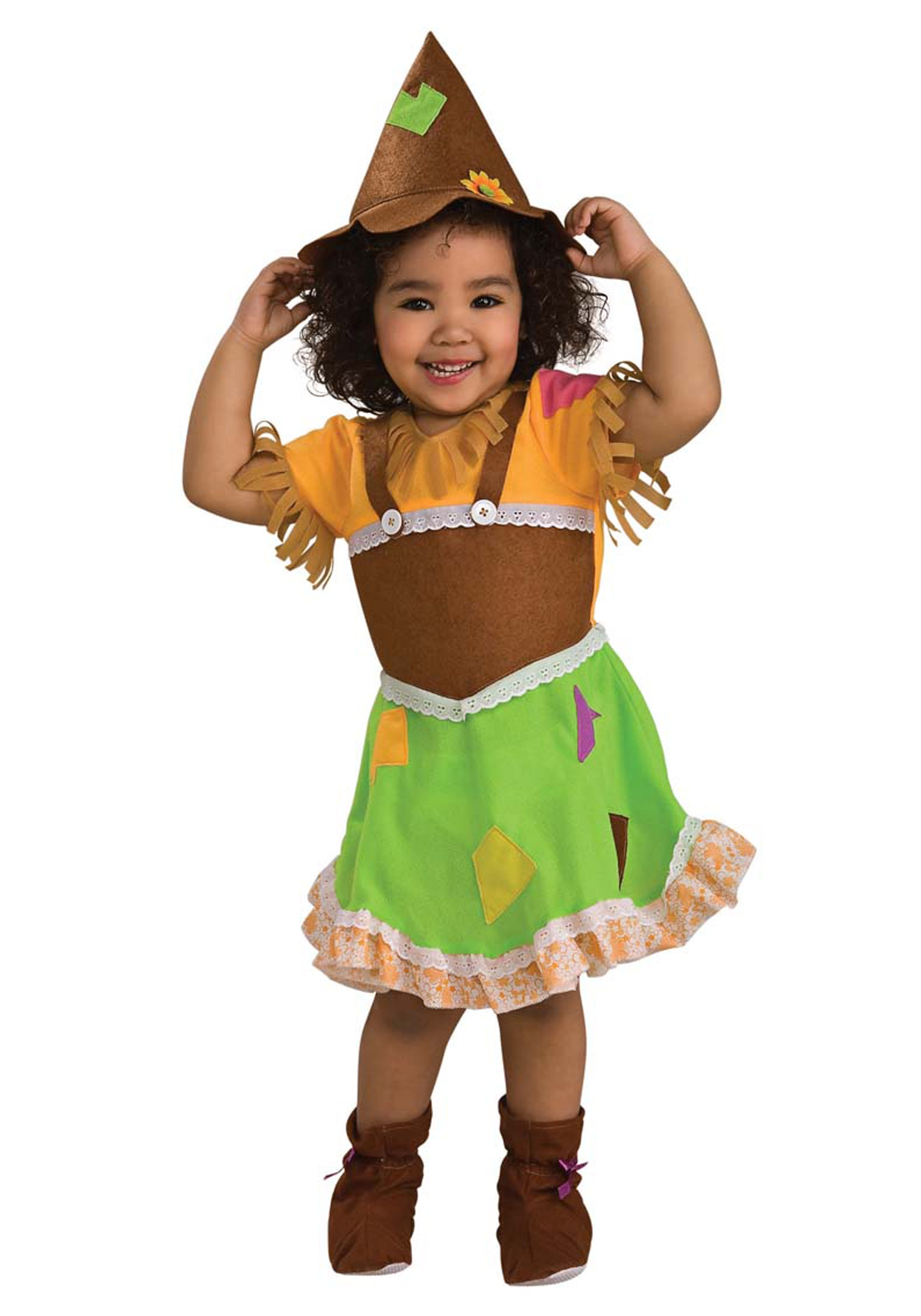 Toddler Girl Scarecrow Halloween Costume Toddler Scarecrow Girl Costume