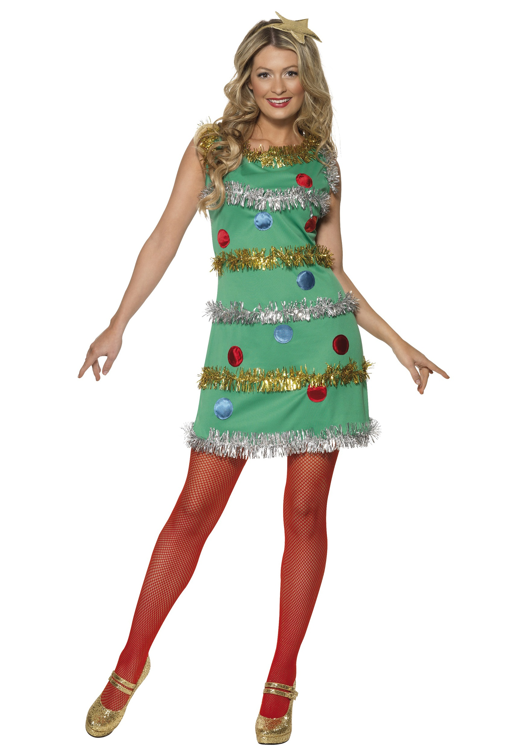 Women s christmas tree dress halloween costumes