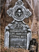 36 Two Piece Eternal Rest Tombstone, halloween costume (36 Two Piece Eternal Rest Tombstone)