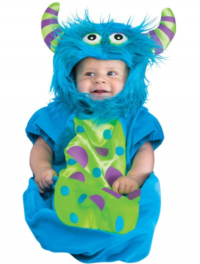 Blue Monster Bunting, halloween costume (Blue Monster Bunting)